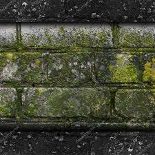 Graue Wand Und Stein Alte Grüne Wand Stein Muster Schimmel Graue Textur Hintergrund R