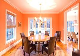 orange dining room table before an orange table orange dining room