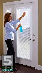 Enclosed Window Blinds Curtains For 3 Side By Side Sliding Glass Doors 25 Feet Wide