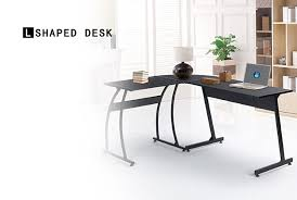 L Shaped Table Desk Greenforest L Shape Corner Computer Office Desk Pc