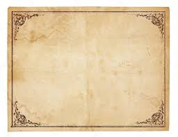 blank vintage paper with antique border stock photo mcarrel