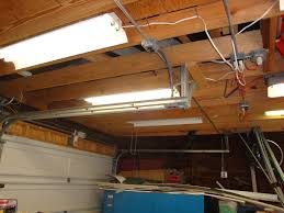 garage fluorescent light fixture fluorescent shop light repair
