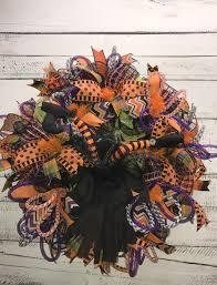Witch Wreath Halloween Halloween Wreath Halloween Witch Wreath Witch Legs Wreath
