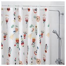 rosenfibbla shower curtain ikea