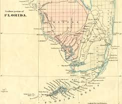 Indian River Florida Map by Florida Memory Teacher Resources Seminole Origins And