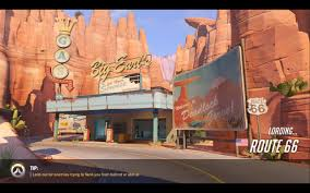 Route 66 Map by Overwatch New Map Route 66 Youtube