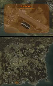 Call Of Duty 3 Maps The Size Of Chernarus Dayz Compared To The Average Cod And