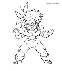 unique coloring pages dragon ball characters 60