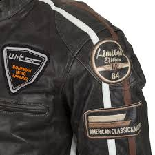 mens motorcycle leathers men u0027s leather motorcycle jacket w tec buffalo cracker insportline