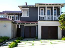 house color schemes exterior grey roof decor references roof