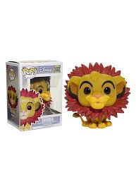 disney lion king pop simba leaf mane vinyl figure topic