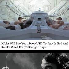 Nasa Will Pay You To Stay In Bed 70 Days Sems Like A Long Time To Lay In Bed By Whatdoesitmeme