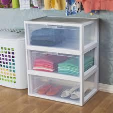 Plastic Storage Cabinet Furniture Stylish Sterilite Drawers For Modern Home Storage Ideas