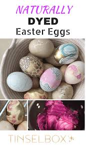 polish inspired naturally dyed easter egg designs tinselbox