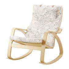rocking chair cover poäng rocking chair vislanda black white ikea