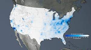 United States Snow Cover Map by Nasa Noaa Data Show 2016 Warmest Year On Record Globally Nasa
