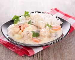 cuisiner poule recette poule au riz à la sauce