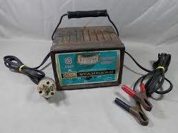 vintage kmart 3 amp 6 12 volt battery charger km30 collectible s s
