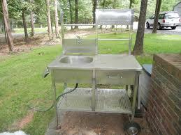 outdoor kitchen sinks ideas ideas for outdoor sink survivalist forum gardening tools
