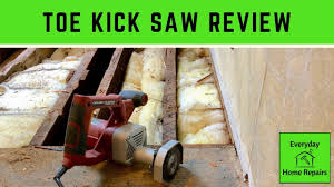 how to cut through subfloor toe kick saw subfloor flush cut to wall demo
