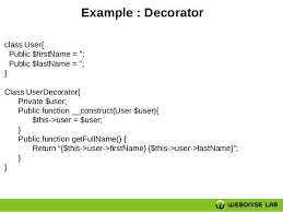 php design patterns php class exle class and objects in php class and objects in