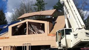 House Dormers Photos Cutmytimber Installing Passive House Dormer Roof Panel Youtube