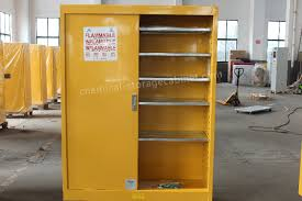 Chemical Storage Cabinets Safety Flammable Liquid Storage Cabinet With Paddle Lock