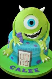 great monsters inc birthday cake birthday cakes monsters and cake