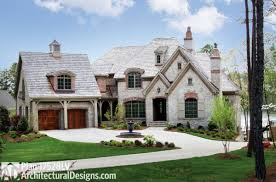 modern sloping block house design with three storey floor plan