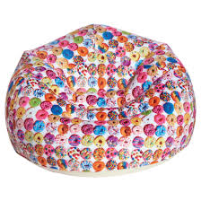 Tie Dye Bean Bag Chair Assorted Donuts Blow Up Chair Iscream