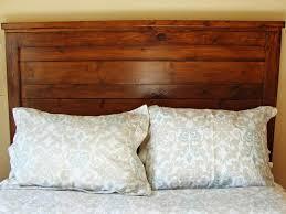 Wood Pallet Headboard Bedroom Extraordinary How To Make A Wood Headboard 1420857024797
