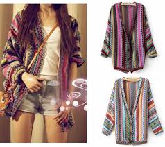 fashion country style multicolor argyle cardigans sweater with