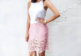 lace skirt diy lace pencil skirt a pair a spare