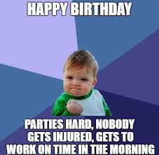 Happy Bday Meme - funny birthday meme images funny birthday wishes