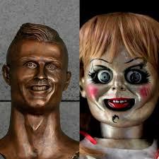 memes de halloween ronaldo y su nuevo busto los mejores memes de redes sociales