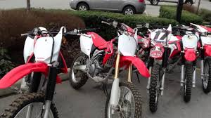 motocross bike dealers used 2014 honda trail u0026 mx bikes for sale at holeshot motorsports
