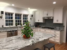 kitchen countertop backsplash granite viscon white backsplash arabesque glass tile