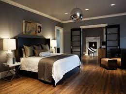 Most Popular Grey Paint Colors With Wooden Floor Office - Grey bedroom paint colors