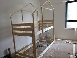 Mydal Bunk Bed Frame An Indoor Playhouse Bunk Bed Ikea Mydal Hack