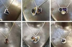 making silver necklace images Some parents are making jewelry out of their babies 8217 jpg