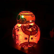 Halloween Pumpkin Lantern - star wars bb8 carved pumpkin w gifs album on imgur