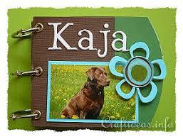 dog scrapbook album gift idea mini scrapbook album for dog owners labrador dog