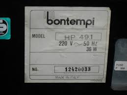 infrequent sound tex technology bontempi hp 49 1 made in italy