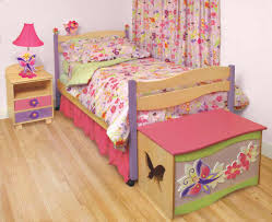 Twin Size Bed For Girls Unique Floral Garden Inspired Twin Size Panel Bed For Kid Girls