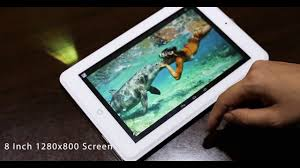 incredible android tablet projector 8 inch hd screen dlp big