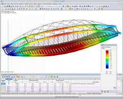 Wood Truss Design Software Free by Rstab Structural Analysis Software For Frames And Trusses