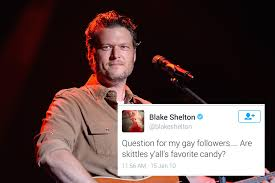 Blake Shelton Meme - people sexiest man alive blake shelton s homophobic and racist