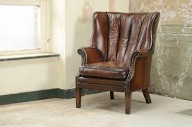 Tetrad Armchair Traditional Armchair Fabric Leather Wing Beardsley