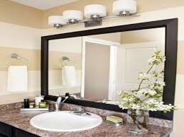 high end bathroom mirrors light fixture over bathroom mirror