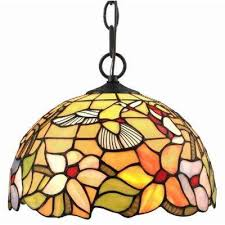 Colored Glass Pendant Lights Multicolored Pendant Lights Hanging Lights The Home Depot